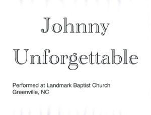 JohnnyU cover